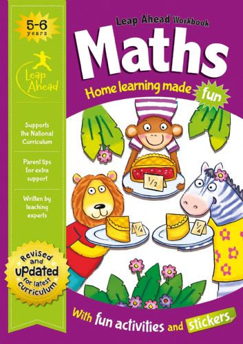Maths Age 5-6 (Leap Ahead Workbook Expert)